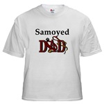 samoyed dog dad t-shirts