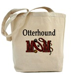 Otterhound Mom accessories, tote bag, messenger bag, cap, hat