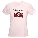Otterhound Mom apparel includes t-shirts, sweatshirts, and hoodies