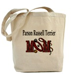 Parson Russell Terrier Mom accessories, tote bag, messenger bag, cap, hat