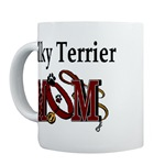 silky terrier dog mom mugs and stein