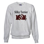 silky terrier dog mom sweatshirt