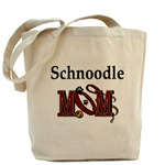 Schnoodle Mom accessories, tote bag, messenger bag, and more gifts she will love