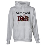 samoyed dad hooded sweatshirt