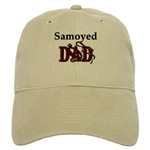 samoyed dad cap