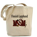 Finnish Lapphund Mom tote bag, messenger bag, hats, and more gift ideas