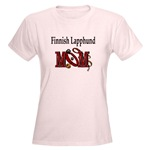 Finnish Lapphund Mom t-shirts come is lots of colors and styles
