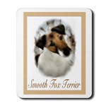 Smooth Fox Terrier art gifts, mousepad, ornament, journal, framed tile, mugs, coasters, more