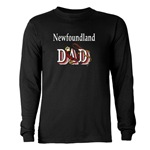 Newfoundland Dog Dad shirts and gift merchandise