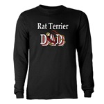 Rat Terrier shirts and gift merchandise, because Dad loves his rat terrier too!