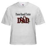 Parson Russell Terrier Dad shirts and gift merchandise