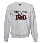 silky terrier dog dad sweatshirt