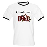 Otterhound Dad shirts and gift merchandise