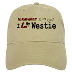 i love my westie cap