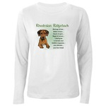 Rhodesian Ridgeback lovers apparel items in sizes for the whole dog loving family