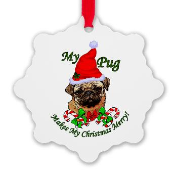 Pug Lovers Christmas Gifts Merchandise_Dogs by Dezign