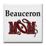 Beauceron Mom gifts, apparel choices include t-shirt, hoodie, sweatshirt, also totes, housewares and more