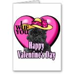 Valentines Day Cards for Affenpinscher Lovers
